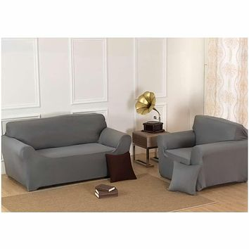 3 Seater Stretch Chair Sofa Covers Couch Cover Elastic Slipcover Protector