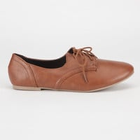 City Classified Desta Womens Shoes Tan  In Sizes