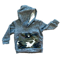 Dark gray camouflage baby hoodie, camo hoodie, baby hoodie, french terry hoodie, toddler hoodie, baby boy hoodie, modern baby clothes