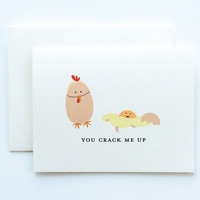 You Crack Me Up Card