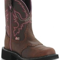 Justin® Ladies Gypsy™ Collection Boots - Distressed Pink Stitch