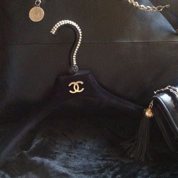 Custom Chanel Hanger /  Designer Clothing Hanger of your Choice!