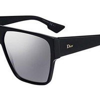 ONETOW Christian Dior DIORHIT 0807 Black Square Sunglasses for