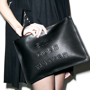 3AM Imports Size Does Matter Clutch Black One