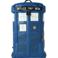 Doctor Who TARDIS Figural Backpack