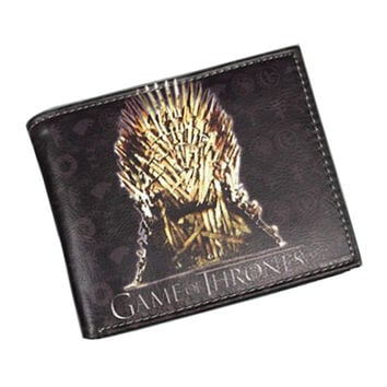 Leather Games of Thrones Wallet,