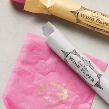 Floating Wish Papers by Anthropologie