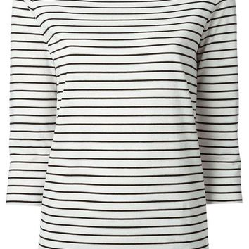 DCCKIN3 Gucci horizontal stripe T-shirt