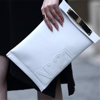 Clutches Evening Bag Leather Causal envelope