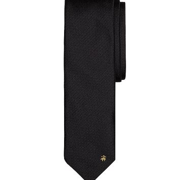 Men's Non-Crease Solid Tie | Brooks Brothers