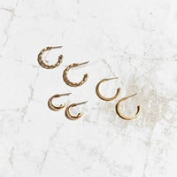 Aria Hoop Earring Set - Urban Outfitters