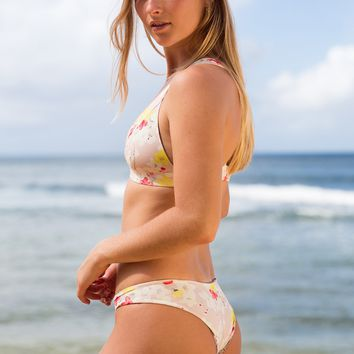 ACACIA Swimwear 2019 Makai Bottom in Cherry Blossom