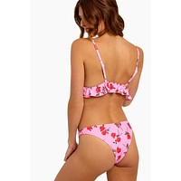 Quella Cheeky Bikini Bottom - Candy Rose