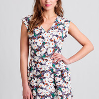 Weekend Brunch Floral Romper