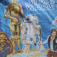 Vintage Star Wars Twin Fitted Sheet 1977