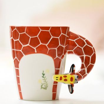Ceramic Hand-Painted Mugs
