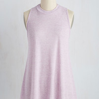 Love of Loose Leaf Top in Lavender | Mod Retro Vintage Short Sleeve Shirts | ModCloth.com
