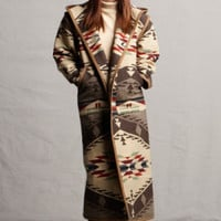 Pendleton ® Fabric Wool Coats, Reversible Spirit of The Peoples Long Coat