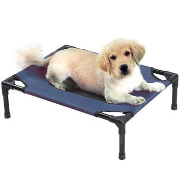 Homestyle New Indoor/Outdoor Portable Pet Sleep Bed Elevated Camping Cot for Cat Dog 22