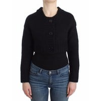 Galliano Black cropped cardigan