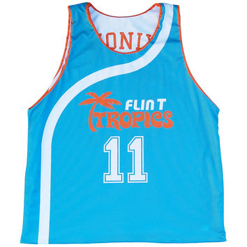 Flint Tropics Monix #11 Basketball Reversible