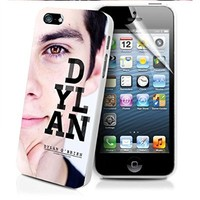 Dylan O'brien As Stiles Stilinski Iphone and Samsung Galaxy Case (iPhone 6 white)