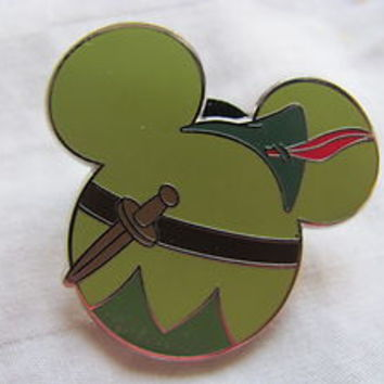 Disney Trading Pin 86555: Mickey Mouse Icon Mystery Pouch - Peter Pan