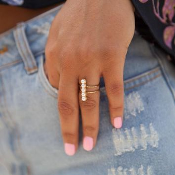 Little Miss Pearl Ring