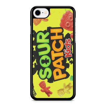 Sour Patch Kids Candy Package Front iPhone 8 Case