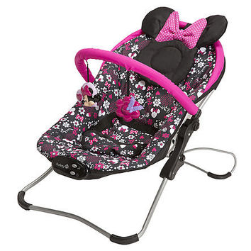 Disney Baby, Infant Musical Bouncer Minnie Mouse Pop