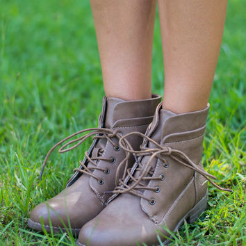 Hike Never Before Boots, Tan