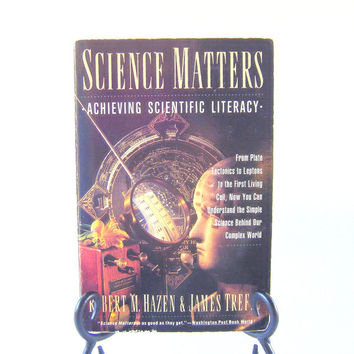 Science Matters Reference Chemistry Biology Physics Geology Astronomy Cosmos Vintage Book Scientist Education Teacher Student