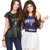 Metal Haven by Kendall & Kylie 'Friends' Necklaces (Set of 2) (Nordstrom Exclusive) | Nordstrom