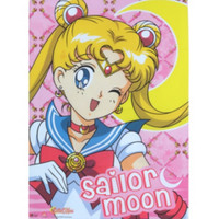Sailor Moon Wink Fabric Poster