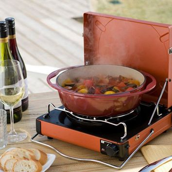 Iwatani Hot Plate Yakiniku BBQ Cooker Set