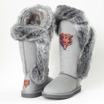 "Chicago Bears Women's Cuce Official NFL ""Winner"" Boots"
