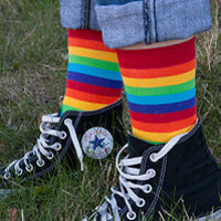 Socks » Socks » Rainbow Midcalves « Sock Dreams