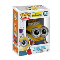 King Bob Minions POP! Movies #168 Vinyl Figure