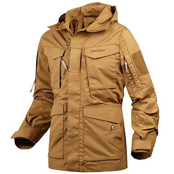 Men's Tactical Military Field Jacket by Mege