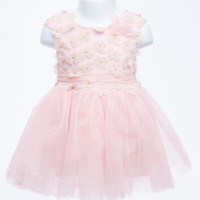 Cotton Candy Pink Tutu Baby Dress