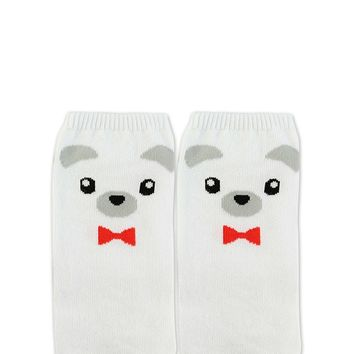 Bear Graphic Ankle Socks