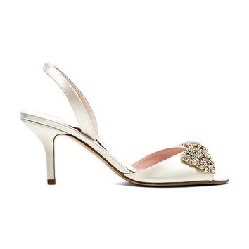 kate spade new york Miva Heel in Ivory