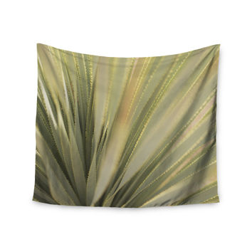 "Kristi Jackson ""Cactus"" Green Yellow Wall Tapestry"