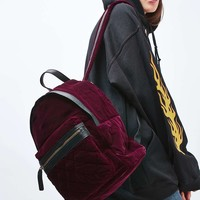 Large Velvet Backpack