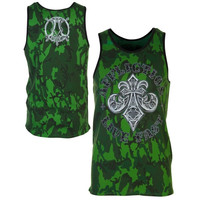 Affliction Royal Thunder Tank Top - Green