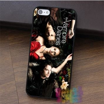 The Vampire Diaries fashion cell phone case for iphone 4 4s 5 5s 5c SE 6 6s 6 plus 6s plus 7 7 plus #LI3188