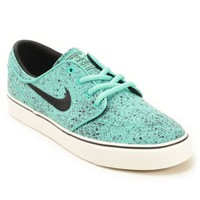 Nike SB Stefan Janoski Speckle Mint Boys Skate Shoes