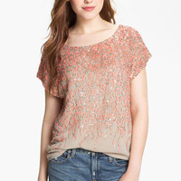 Vince Camuto Sequin Blouse | Nordstrom