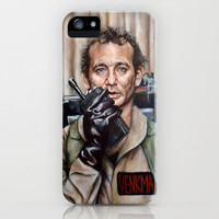 Bill Murray / Ghostbusters / Peter Venkman iPhone Case by Heather Buchanan | Society6