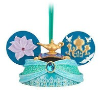 disney christmas aladdin princess jasmine ear hat ornament new with tag